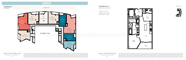 Biscayne beach floor plans for Floor plans 900 biscayne