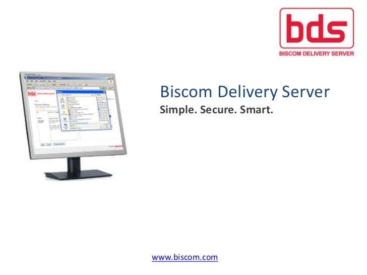 Biscom corp presentation 4 2012