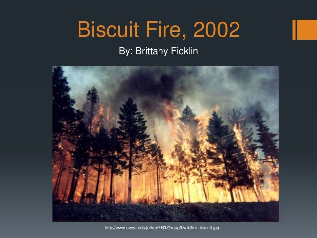 Biscuit Fire, 2002 By: Brittany Ficklin http://www.uwec.edu/jolhm/EH3/Group9/wildfire_biscuit.jpg
