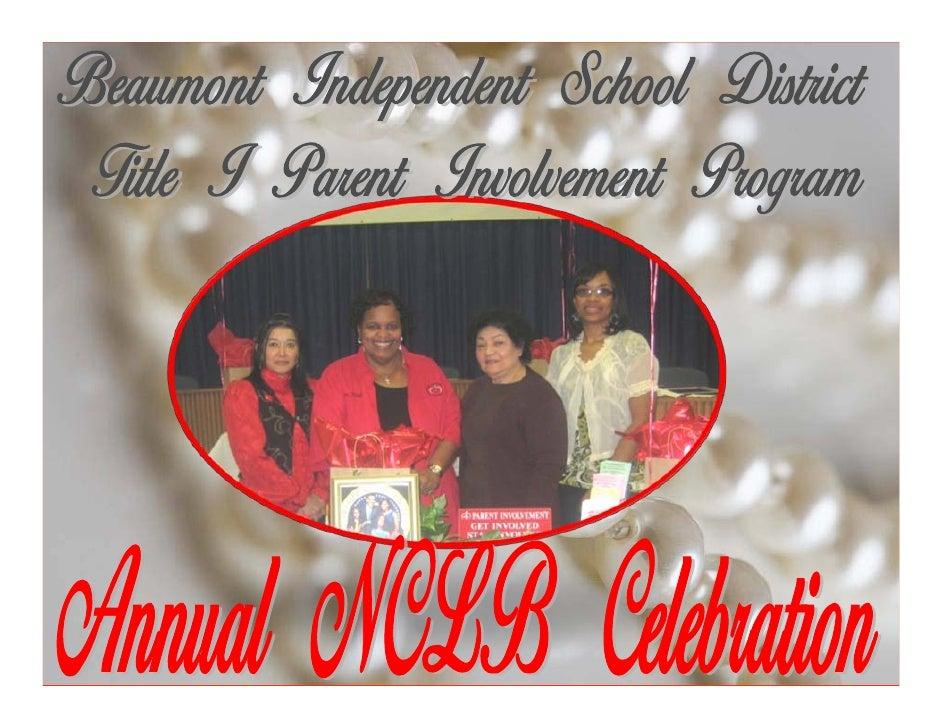 BISD Parent Involvement Program's Spotlight For Success 2008-2009
