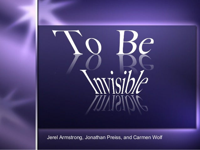 Jerel Armstrong, Jonathan Preiss, and Carmen Wolf