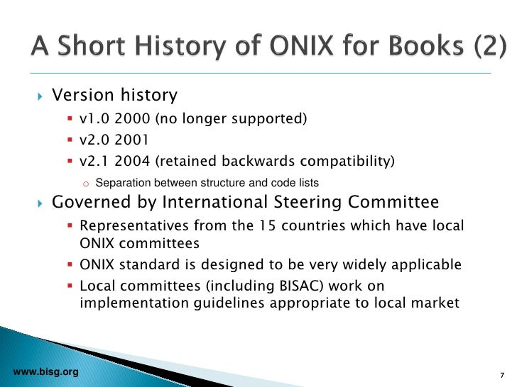 Bisg webcast onix for books v30 supporting new metadata for eb 7 fandeluxe Images
