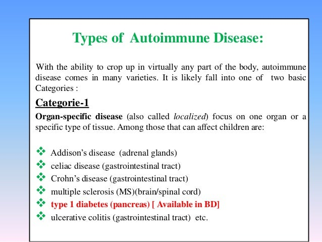 Autoimmune Disease By Bishajit debnath