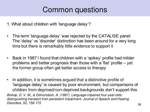 Language Delay Versus Language Disorder >> What Is Developmental Language Disorder