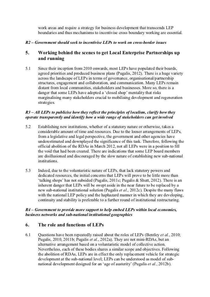 BIS LEPs and RGF inquiry   pugalis bentley gibbons shutt Slide 3