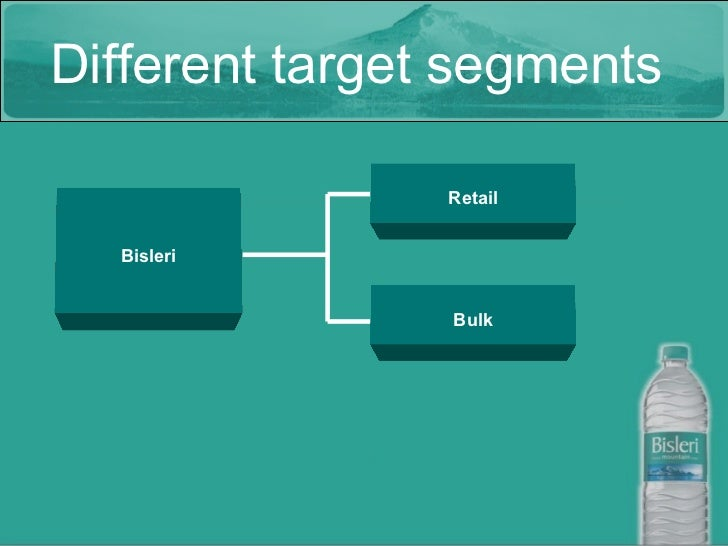 market position of bisleri Marketing strategy of bisleri shows how the company is operating based on the different sku's, while using selective targeting strategy with more than 52 years of history since its.