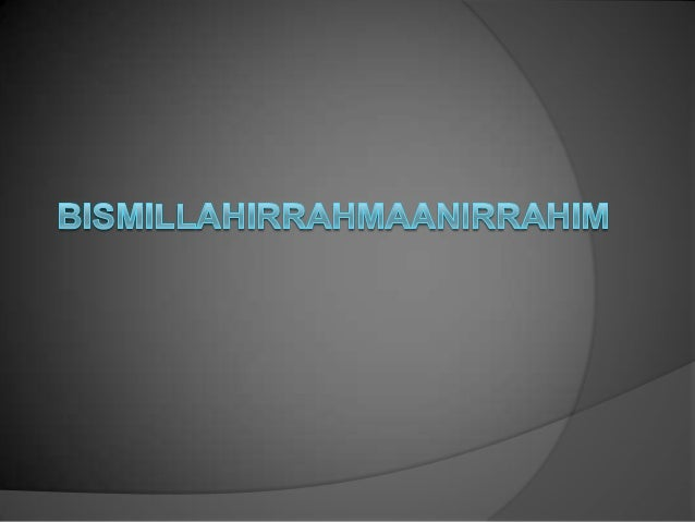 This presentation was created to fulfill the task in the Islamic Faith.  By; itmamul akwan (20130430046) & ismail raazi al...