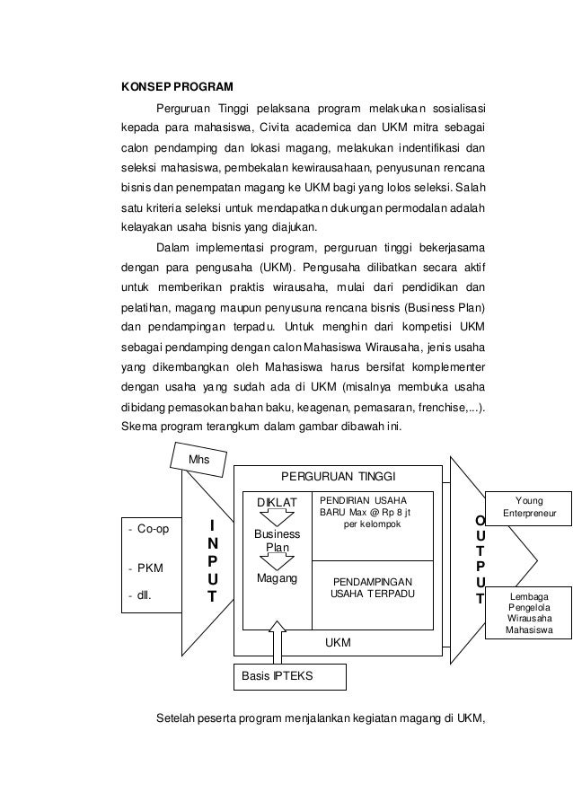 contoh business plan pmw