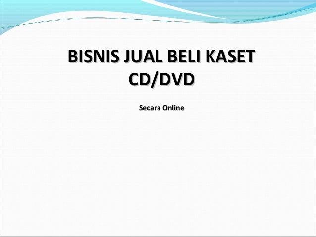 Bisnis jual beli kaset cd 1