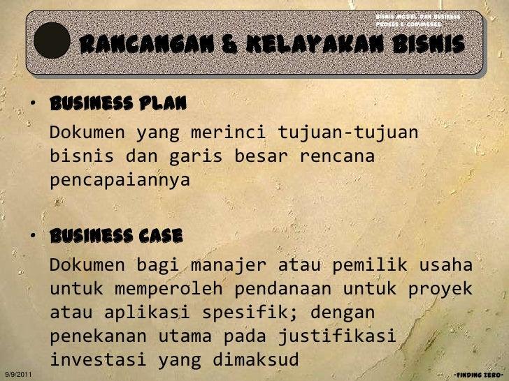 Tujuan dari penggunaan e-business plan
