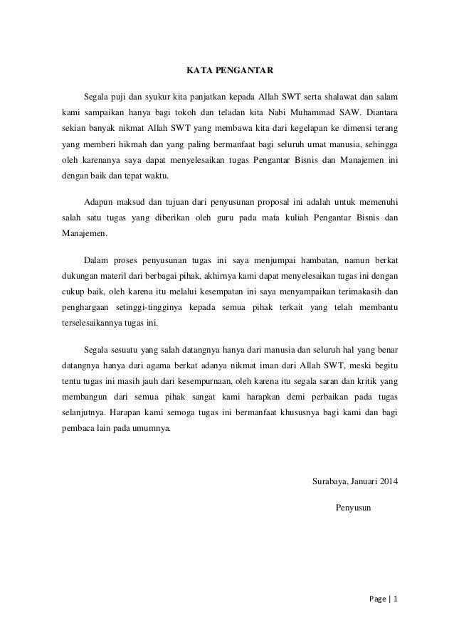 Proposal Bisnis Plan Hijab Rasmi H