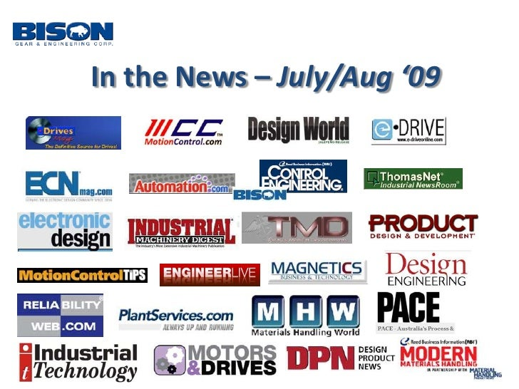 In the News – July/Aug '09 <br />