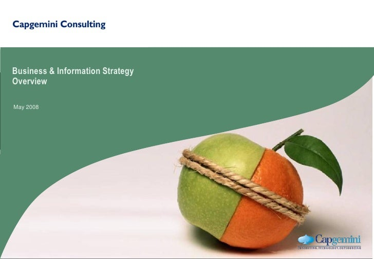Business & Information Strategy Overview  May 2008