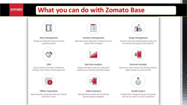 Business Information System On Zomato Base