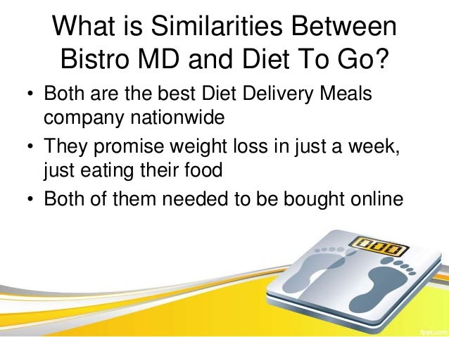 Diet To Go Vs Bistro MD – Video Comparison