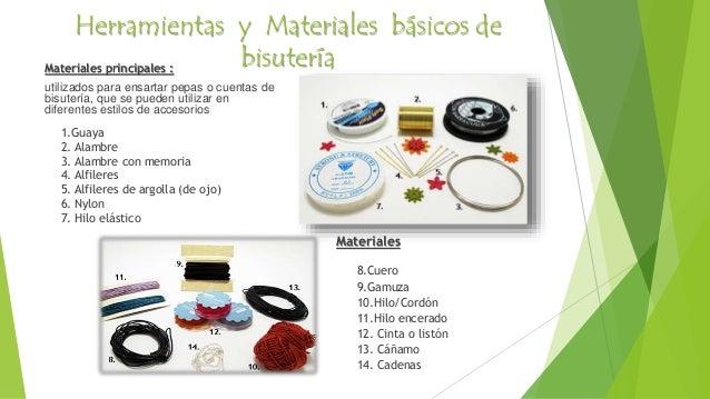 Bisuteria el arte en tus manos for Materiales para bisuteria