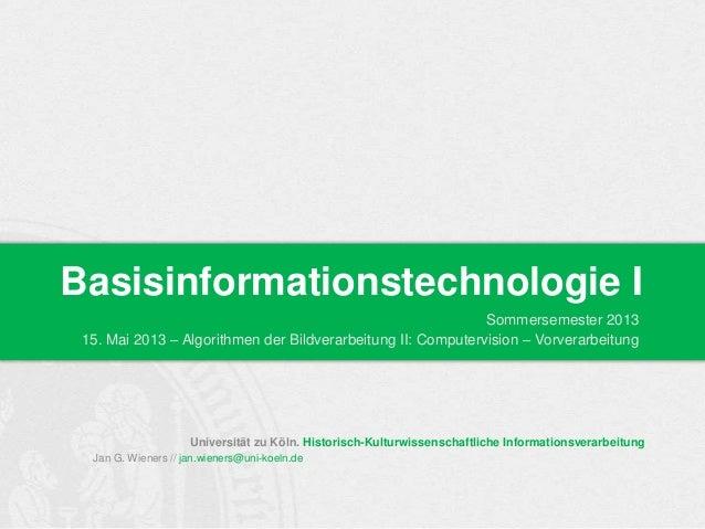 Universität zu Köln. Historisch-Kulturwissenschaftliche InformationsverarbeitungJan G. Wieners // jan.wieners@uni-koeln.de...