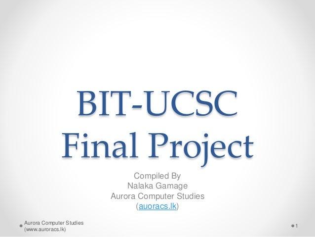 it190 final project Unit 9 final project: unit 9 final project craig crow it190 foundations in information technology professor, sydney caddel-liles.