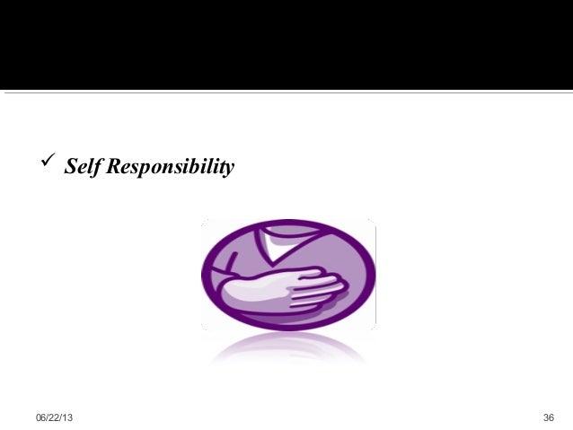 06/22/13 36 Self Responsibility