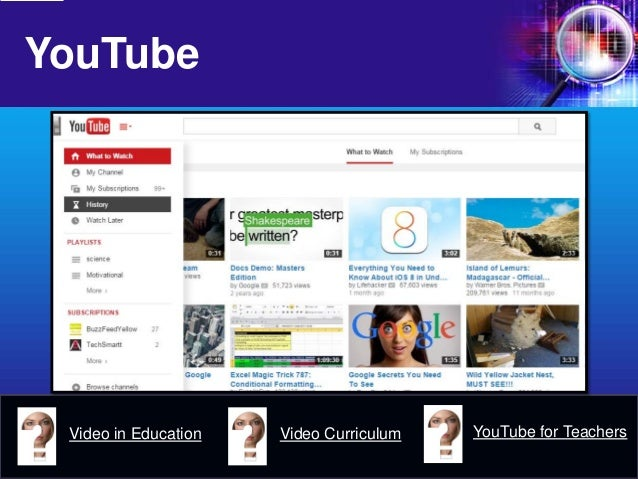 youtube in education The pros and cons of youtube in education show that it can be an especially meaningful way to connect with students as long as the negatives are managed in an .