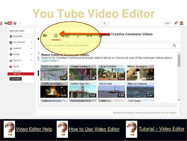 You Tube Video Editor  How to Use Video Editor  Tutorial – Video Editor  Video Editor Help