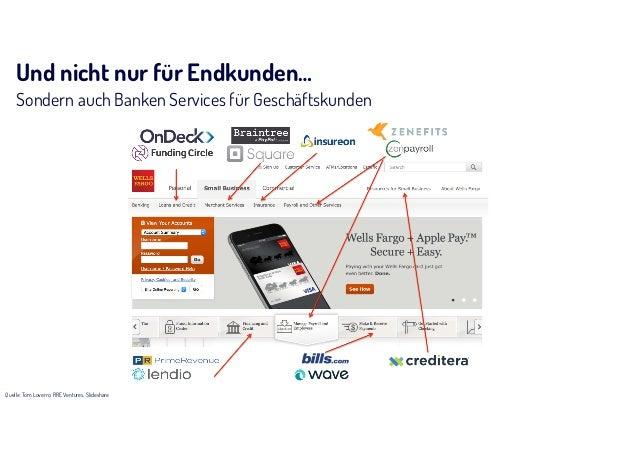 Was macht man mit unserer Technik? Unsere Partner bauen unterschiedliche Use-Cases auf unserer Plattform › Mobile Banking ...