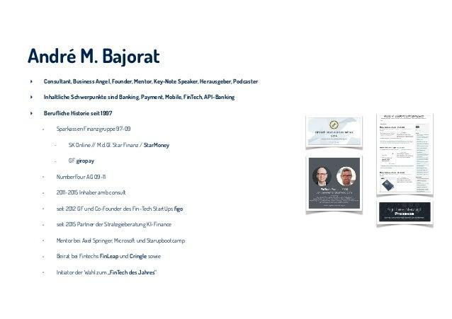 André M. Bajorat ‣ Consultant, Business Angel, Founder, Mentor, Key-Note Speaker, Herausgeber, Podcaster ‣ Inhaltliche Sch...