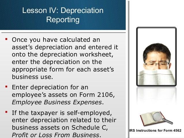 Bit 3 session 19 – Irs Depreciation Worksheet