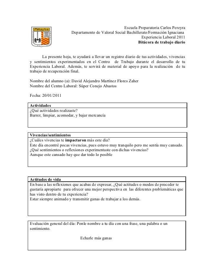 Escuela Preparatoria Carlos Pereyra                         Departamento de Valoral Social Bachillerato/Formación Ignacian...