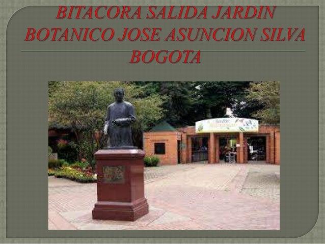 Antes de la entrada de el Jardín Botánico José Asunción Silva se podía entrar a una sección donde se encontraban algunas e...
