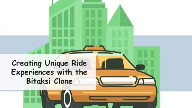 Creating Unique Ride Experiences with the Bitaksi Clone