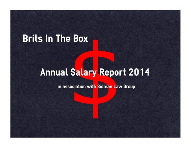 Production Salary Report 2014