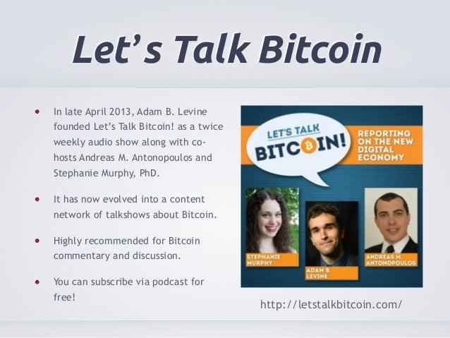 adam levine let talk bitcoins