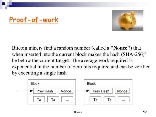 Before publishing bitcoin