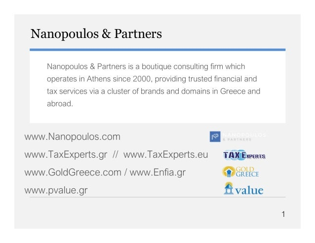 Nanopoulos & Partners