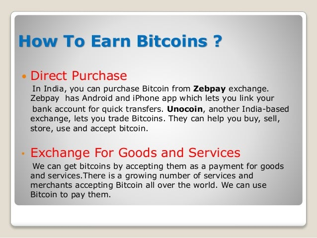 Bitcoin in India - Submitted at EIILM, Kolkata