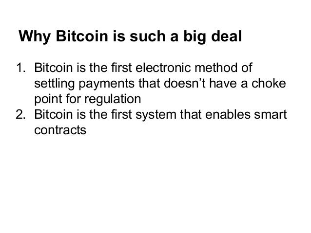 How Bitcoin 2.0 Will Shape the Future of Business Slide 3