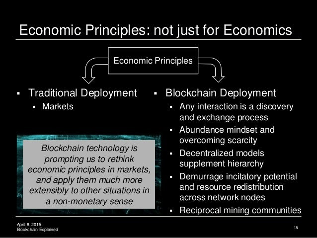 the blockchain community is not