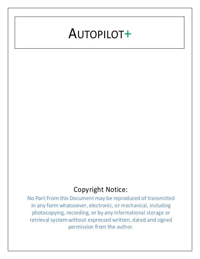 Bitcoin Autopilot V1