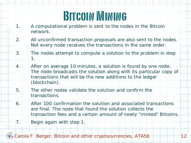 Bitcoin and Other Cryptocurrencies: Illegal Money or a New Global Pay…