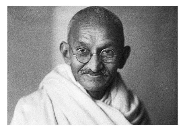 Основной враг человека — это централизация Идеалом государственности по Ганди была «просвещённая анархия», главным являлос...