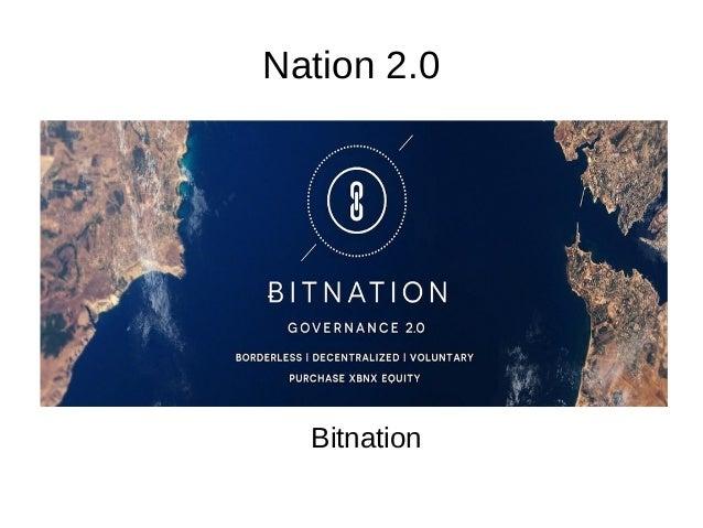 Nation 2.0 Bitnation