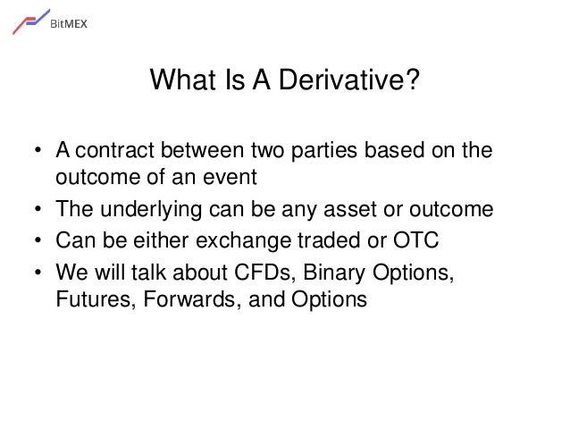 Forex and cfd contracts are not over-the-counter otc derivatives