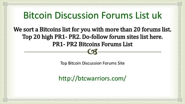 Bitcoins forums binary options trading strategies youtube converter