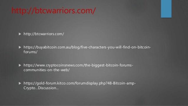 Bitcoin discussion forums list Australia