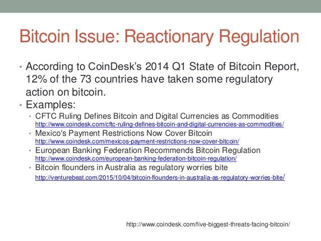 Cftc defines bitcoin