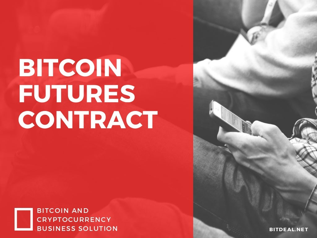 What is bitcoin futures contract? - Magazine cover
