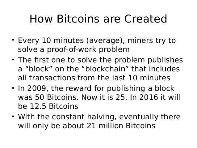 Basics of bitcoin mining how bitcoins ccuart Gallery
