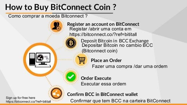 Bitconnect coin editado em portugus how to buy bitconnect ccuart Images