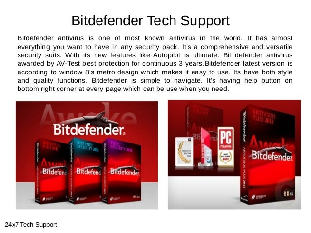 Bitdefender Tech Support Bitdefender antivirus is one of most known antivirus in the world. It has almost everything you w...